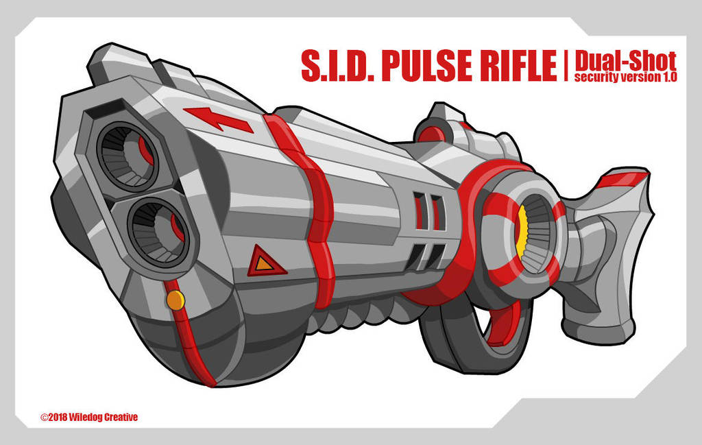 S.I.D. Pulse Rifle by wiledog