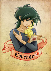 Courage . by Achiru-et-al