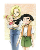 Family Portrait by Achiru-et-al