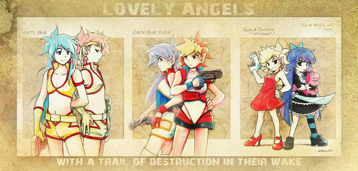 Lovely Angels Cosplay by Achiru-et-al