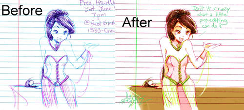 Before and After by Achiru-et-al