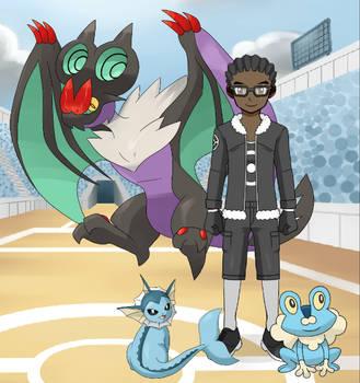 Pokemon Trainer: Antaine R. Haynes by LR-Studios