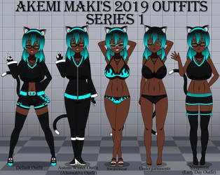 Akemi Maki's 2019 Outfit by LR-Studios