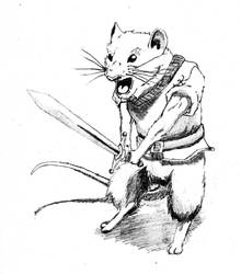Redwall Mouse by TehKrazeeeOne