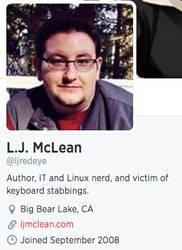 New Twitter bio by Cooper3