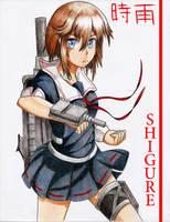 Kancolle - Shigure by 10thKnight