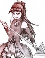 Madoka Magica - Kyoko by 10thKnight