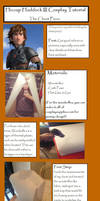 HTTYD 2 - Hiccup's Chest Piece Tutorial by SasukeTheEmoKing
