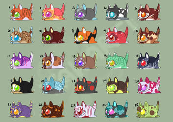 [OPEN] Kitty loaf POINT adopts [19/25] by Takarti