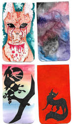 Phone case covers by crushedbutterfly101