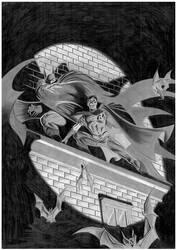 Breyfogle Batman by donchild