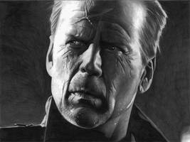 Bruce Willis Sin City by donchild