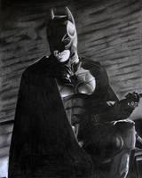 The Dark Knight Rises Batman by donchild