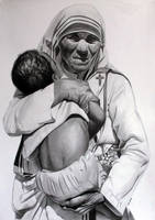 Mother Teresa by donchild