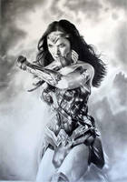 Wonder Woman Gal Gadot by donchild