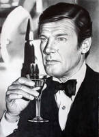 James Bond Roger Moore by donchild