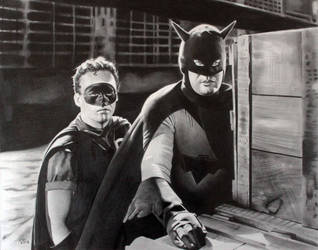 Batman and Robin 1949 Serial by donchild