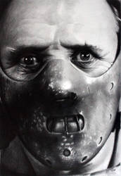Hannibal Lecter by donchild