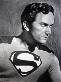 Superman Kirk Alyn by donchild
