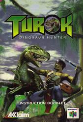 Turok Dinosaur Hunter Instruction Booklet (Manual) by Razpootin