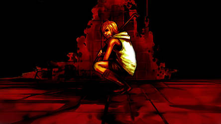 Silent Hill 3 Bloody Wallpaper v2.0 by Razpootin