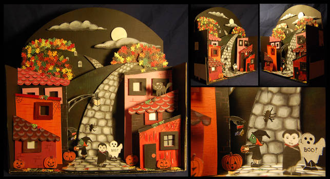 Magical night - Merrell Diorama Contest by abou3