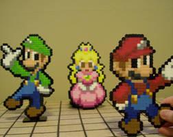 Plumbers and a Princess by Usagi-CRI