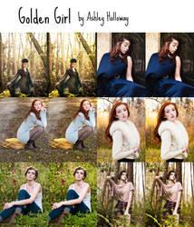 Golden Girl by Queen-Kitty