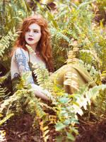 Amongst the Fern by Queen-Kitty