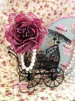 Lovely Rose Brooch by Cupcake--Princess
