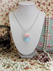 Cupcake Necklace by Cupcake--Princess