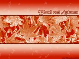 Blood Red Autumn by Telliria