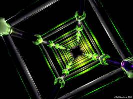 Green Infinity by Telliria