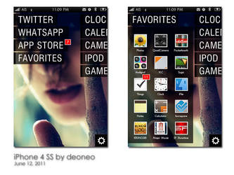 iPhone 4 SS 2 - June'11 by deoneo