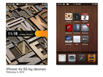 iPhone 4s SS - February 2012 by deoneo