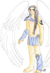 Angel... Haiannael by pumayui