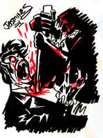Vampire Slayin' by XBlackFerretX