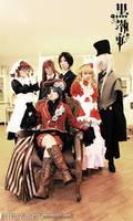 Kuroshitsuji Team - Full House by lavena-lav