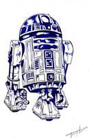 R2D2 (Retake) by TruiArts