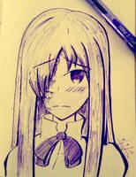 Hanako (Katawa Shoujo) by TruiArts