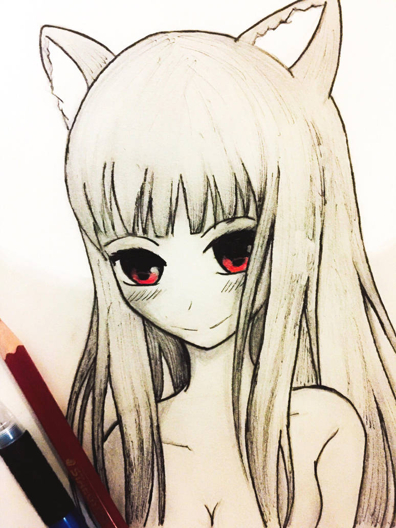 Holo- Spice and Wolf by TruiArts