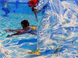 merman by cyndavalle