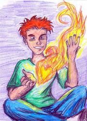 Burning Heart by Valoofle
