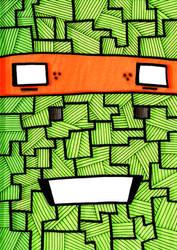 TMNT Nonsense #3: Michaelangelo by PXSausage