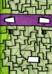 TMNT Nonsense #4: Donatello by PXSausage
