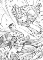 Sups Versus Goku by Smolb