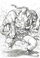 TMNT Bebop by Smolb
