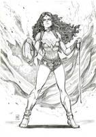 Wonder Woman by Smolb