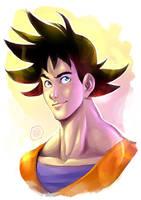 Son Goku by Smolb