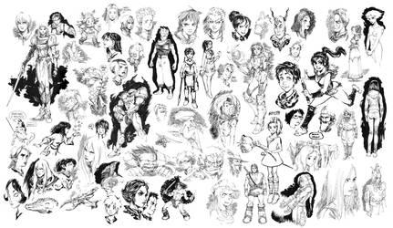Sketchbook stuff by Smolb